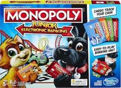 Monopoly Junior: Elektronické bankovnictví CZ - hra