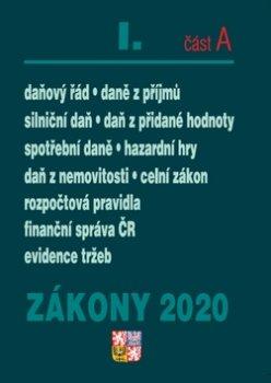 Zákony 2020 I. část A Daňové zákony