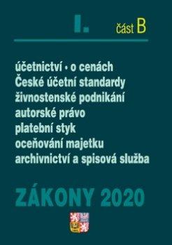Zákony 2020 I. část B Účetní zákony