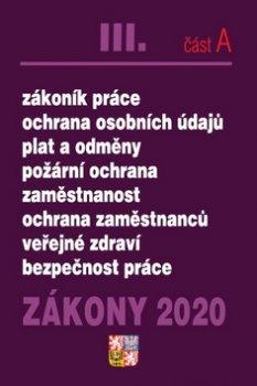 Zákony 2020 III. část A Pracovní právo