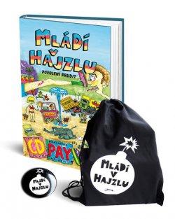 Mládí v hajzlu - Povolení prudit + batoh + placka Limitované edice