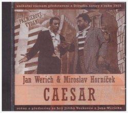 Jan Werich, Miroslav Horníček: Caesar CD