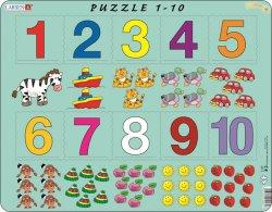 Puzzle MAXI - Počítání pro nejmenší s čísly/10 dílků