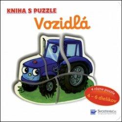 Vozidlá Kniha s puzzle