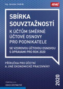 Sbírka souvztažností k účtům směrné účtové osnovy 2020