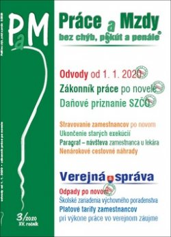 Práce a mzdy bez chýb, pokút a penále 3/2020