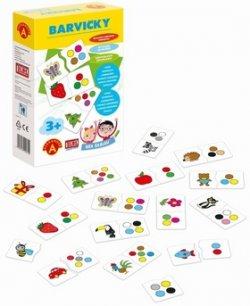 Barvičky kreativní hra v krabici