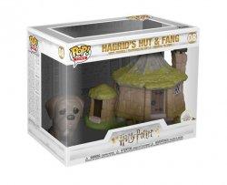 Funko POP Town: Harry Potter S8 - Hagrid´s Hut w/ Fang