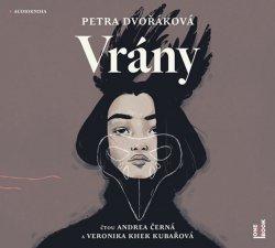 Vrány - CDmp3 (Čte Andrea Černá, Veronika Khek Kubařová)