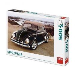 VW Brouk na pláži: puzzle 500 dílků