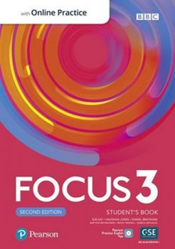 Focus 3 Student´s Book with Standard Pearson Practice English App (2nd)