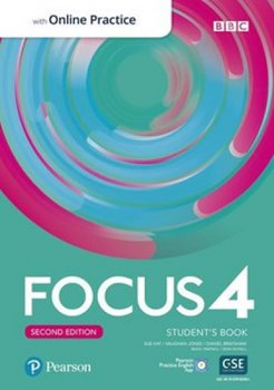 Focus 4 Student´s Book with Standard Pearson Practice English App (2nd)