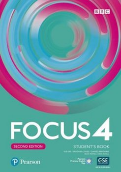 Focus 4 Student´s Book with Basic Pearson Practice English App (2nd)