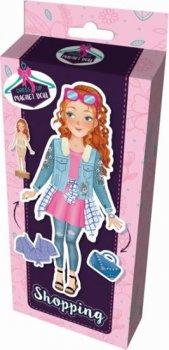 Na nákupech - Magnetické panenky