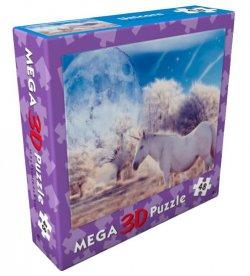 3D puzzle Jednorožec