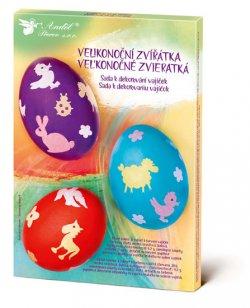 Sada k dekorování vajíček/velikonoční zvířátka