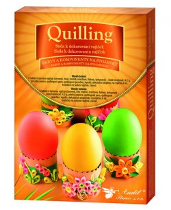 Sada k dekorování vajíček/quilling