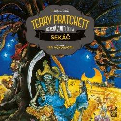 Sekáč - Úžasná zeměplocha - 2 CD (Čte Jan Vondráček)