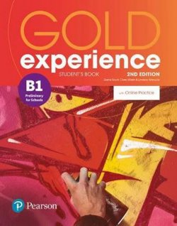 Gold Experience 2nd Edition B1 Students´ Book w/ Online Practice Pack