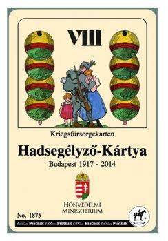 Piatnik Karty mariáš. 1.světová válka (reprint HU)