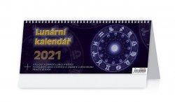 Kalendář 2021 stolní: Lunární kalendář, 321x134