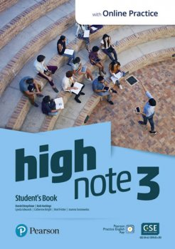 High Note 3 Student´s Book with Pearson Practice English App