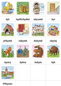 Hry s vyjmenovanými slovy (SOUBOR KARET pro výuku českého jazyka ve 3. ročníku)