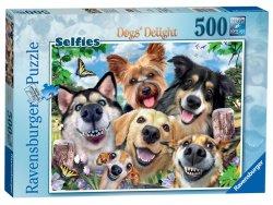 Puzzle Psí selfie 500 dílků