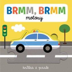 BRMM, BRMM motory Knižka s puzzle