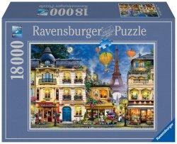Puzzle Paříž 18000 dílků