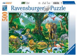 Puzzle Džungle 500 dílků