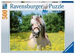 Puzzle Plavý kůň 500 dílků