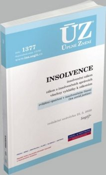 ÚZ 1377 Insolvence