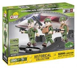 Stavebnice COBI - 3 figurky s doplňky Americká letecká divize, 26 k