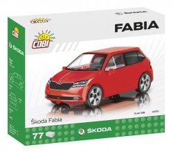 Stavebnice COBI - Škoda Fabia model 2019, 1:35, 77 k