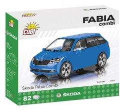 Stavebnice COBI - Škoda Fabia combi model 2019, 1:35, 82 k