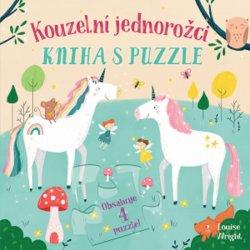 Kouzelní jednorožci - Kniha s puzzle