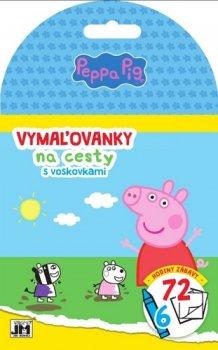 Vymaľovanky na cesty Peppa Pig