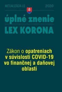 Aktualizácia I-2/2020 –LEX-KORONA – daňová a finančná oblasť