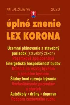 Aktualizácia IV/2 2020 –LEX-KORONA – stavebný zákon a súvisiace predpisy