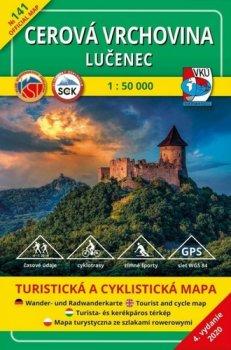 Cerová vrchovina - Lučenec  1 : 50 000