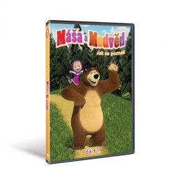 Máša a medvěd 1 DVD