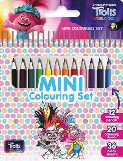 Trolové 2 - Mini set s pastelkami