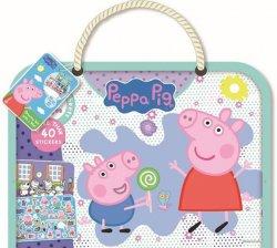 Peppa - Kreslicí blok s podložkou