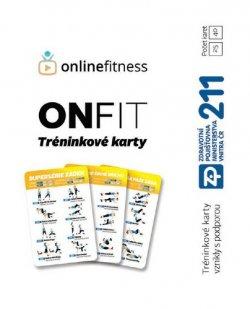 ONFIT Tréninkové karty 25 karet