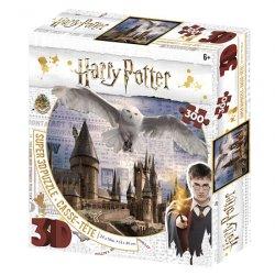 Harry Potter 3D puzzle - Bradavice a Hedvika 300 dílků