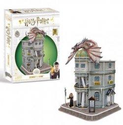 Harry Potter 3D puzzle Harry Potter Příčná ulice Gringottova banka - 95 dílků