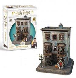 Harry Potter 3D puzzle Příčná ulice Ollivanderův obchod s hůlkami - 88 dílků