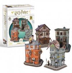 Harry Potter 3D puzzle Příčná ulice  4v1 - 181 dílků