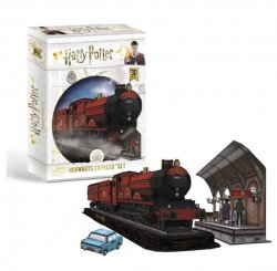 Harry Potter 3D puzzle Bradavice expres 161 dílků